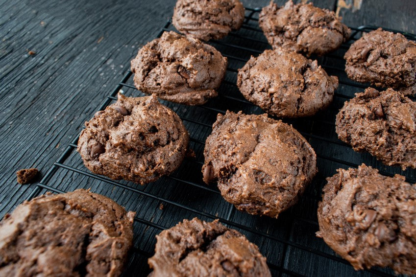 Hot Chocolate Protein Cookies Low Carb