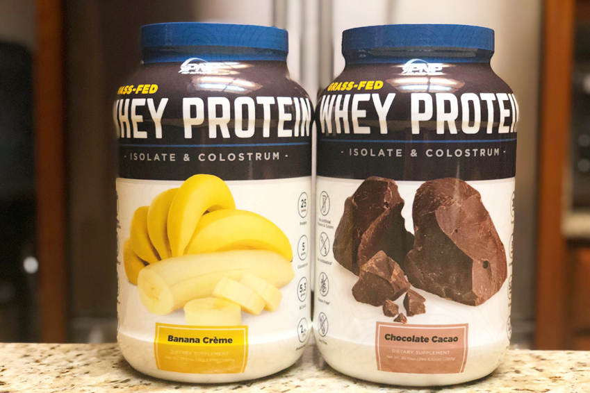 Grass Fed Whey Protein Isolate and Bovine Colostrum