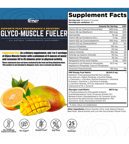 Glyco-Muscle Fueler