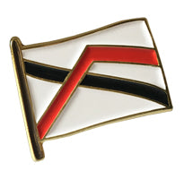 Courage flag Pin