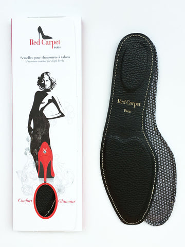 Full Insoles for High heels - Black - Red Carpet Paris - 1