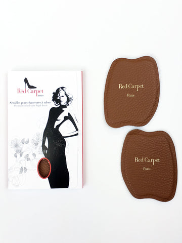 NEW! Half-insoles for High Heels - Coffee - Red Carpet Paris - 1