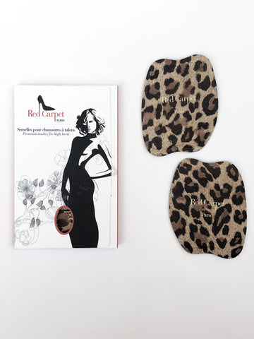 NEW! Half-insoles for High Heels - Leopard - Red Carpet Paris - 1