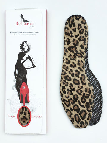 Full insoles for High Heels - Leopard - Red Carpet Paris - 1