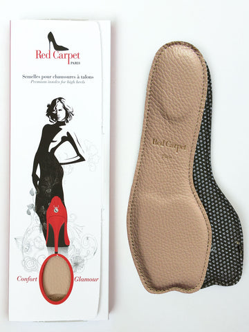NEW! Open-Toe insoles for High Heels - SKIN - Red Carpet Paris - 1