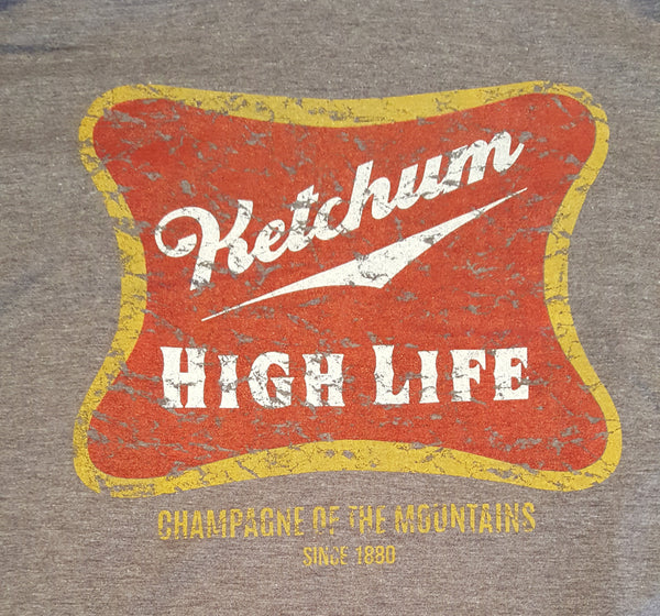 Ketchum High Life Short Sleeved T-Shirt