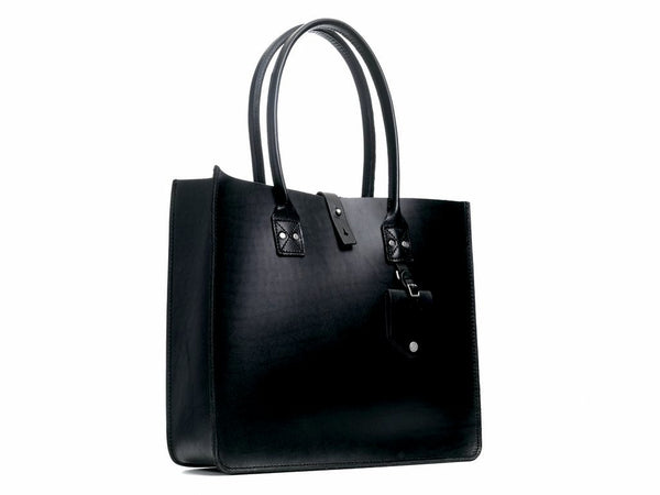 Leather Tote No. 235 | Black or Tan