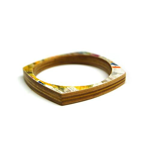 Boxcar Bangle | Recycled Skateboards