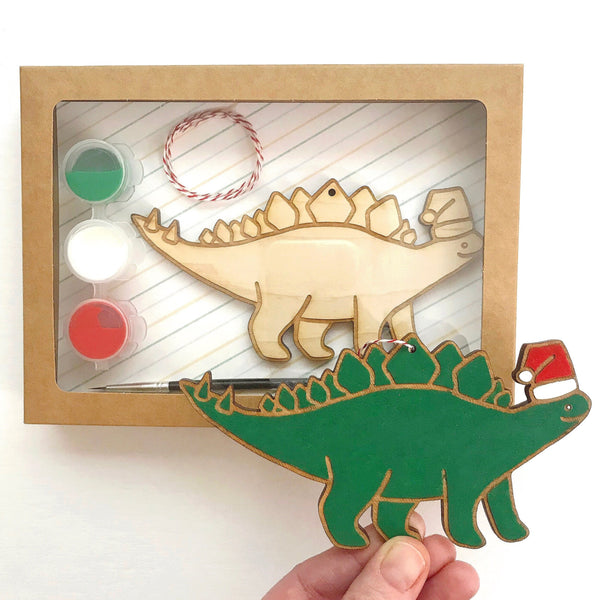 DIY Dinosaur Ornament Kit