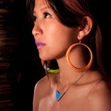 Door Knocker Earrings | Recycled Skateboards