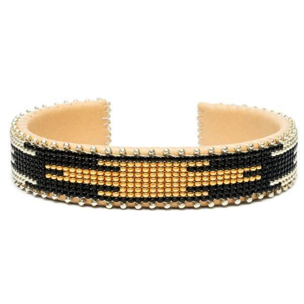 Ella Glass Cuff Small by Etkie