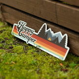 Happy Camper Bumper Sticker