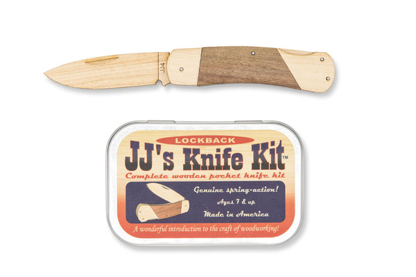 Wooden Pocket Knife Kit