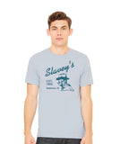 Series I: Historic Ketchum Tees - Slavey's Blue