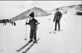 The Stylish Life Skiing by Gabrielle le Breton