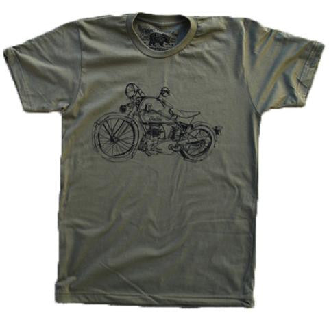 1929 Indian Motorcycle Army Tee