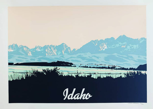 Idaho Landscape by Jack Weekes