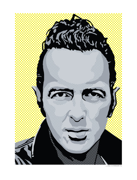 Joe Strummer by Jack Weekes | Type B Laboratories