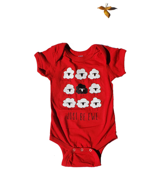 Just Be Ewe Onesie