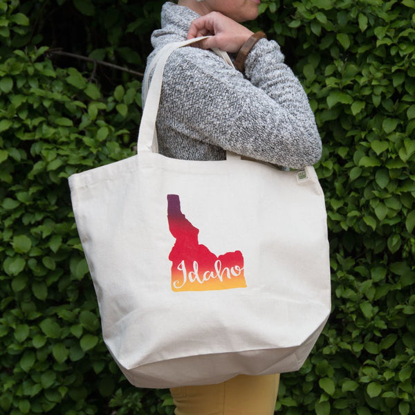 Idaho Canvas Tote