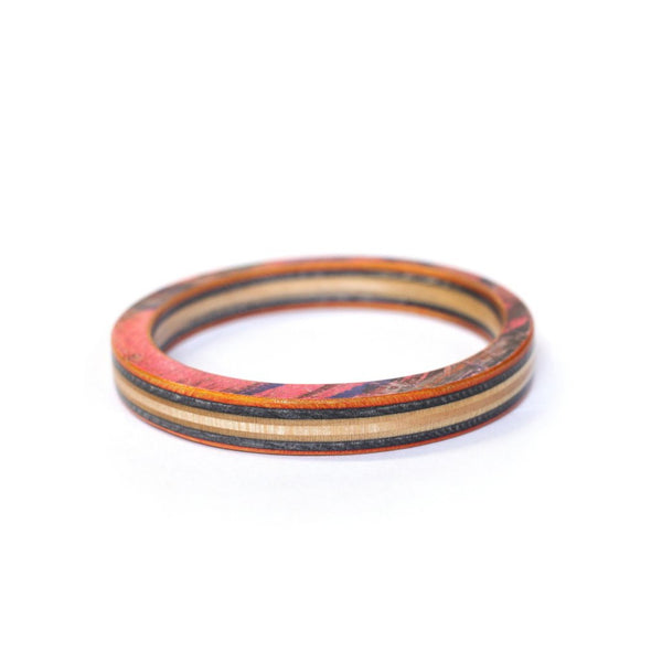 Classic Bangle | Recycled Skateboards