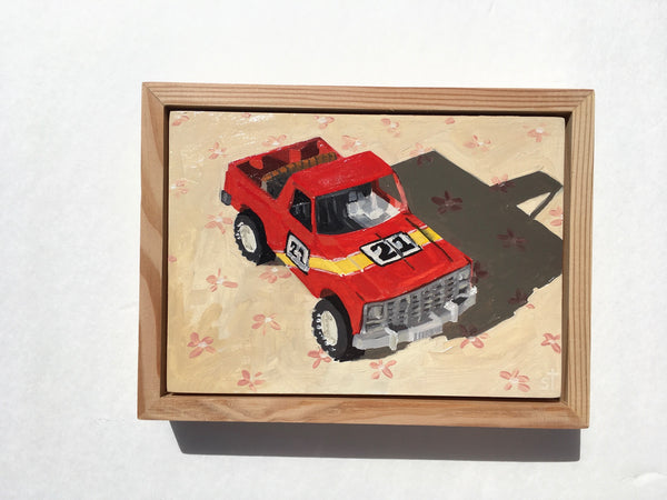 Vintage Red Pick-Up | Matchbox Car Series