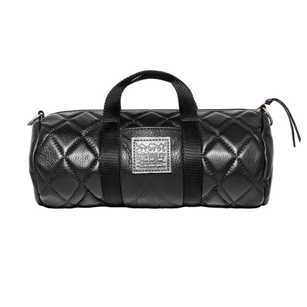 Diamond Quilt Leather Duffle | Long Valley Collection