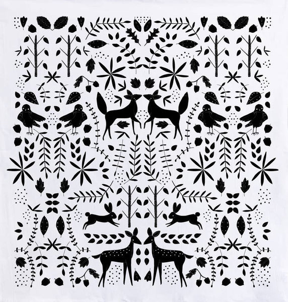 Otomi Forest Tea Towel