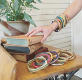 Pala Bangle | Recycled Skateboards