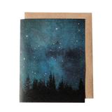 Night Sky Greeting Card