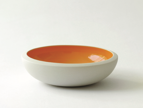 Sauce Porcelain Ceramic Bowl | Blue & Orange