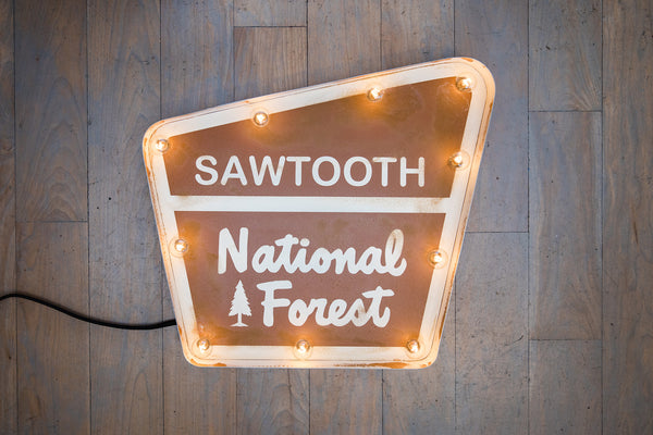 Sawtooth National Forest Marquee