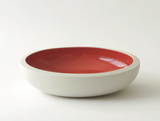 Snack Porcelain Ceramic Bowl | Blue & Orange