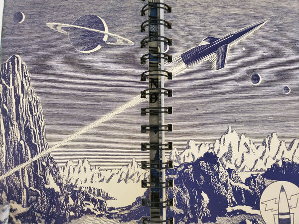 Vintage Book Journal | The Tom Corbett Space Cadet Stories
