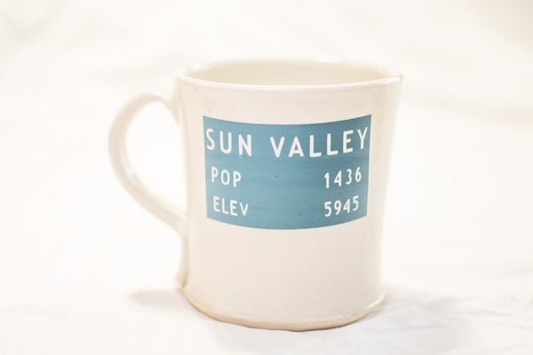 Sun Valley Handmade Mug
