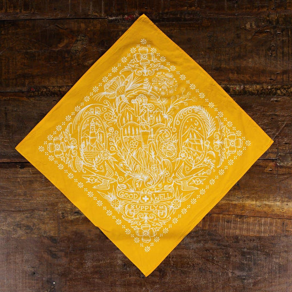 Take A Hike Bandana - Orange