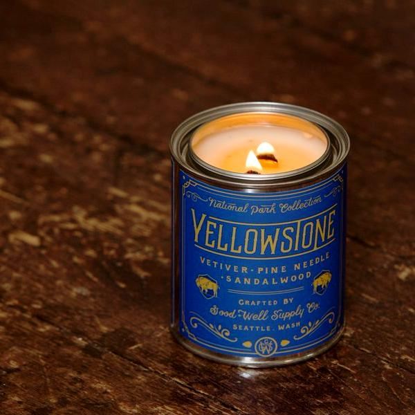National Park Candle - Yellowstone