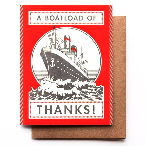 A Boatload of Thanks!