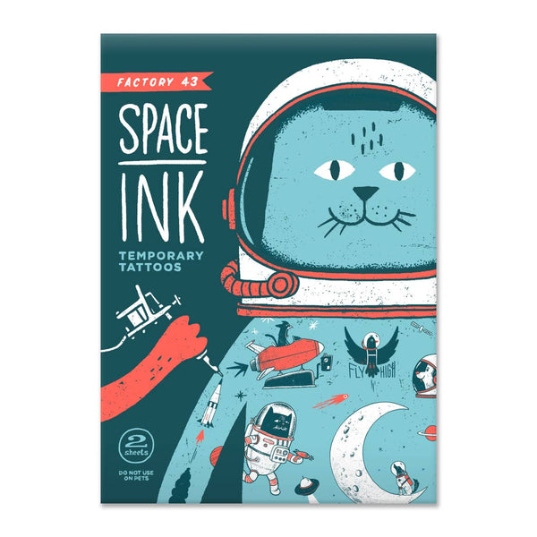Factory 43 Space Ink Temporary Tattoos