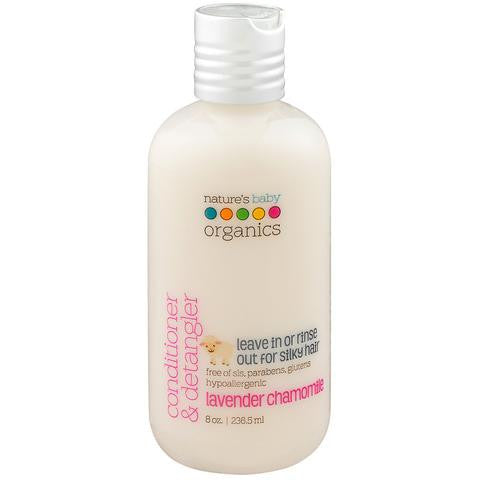 Nature's Baby Organics - Conditioner and Detangler 8oz