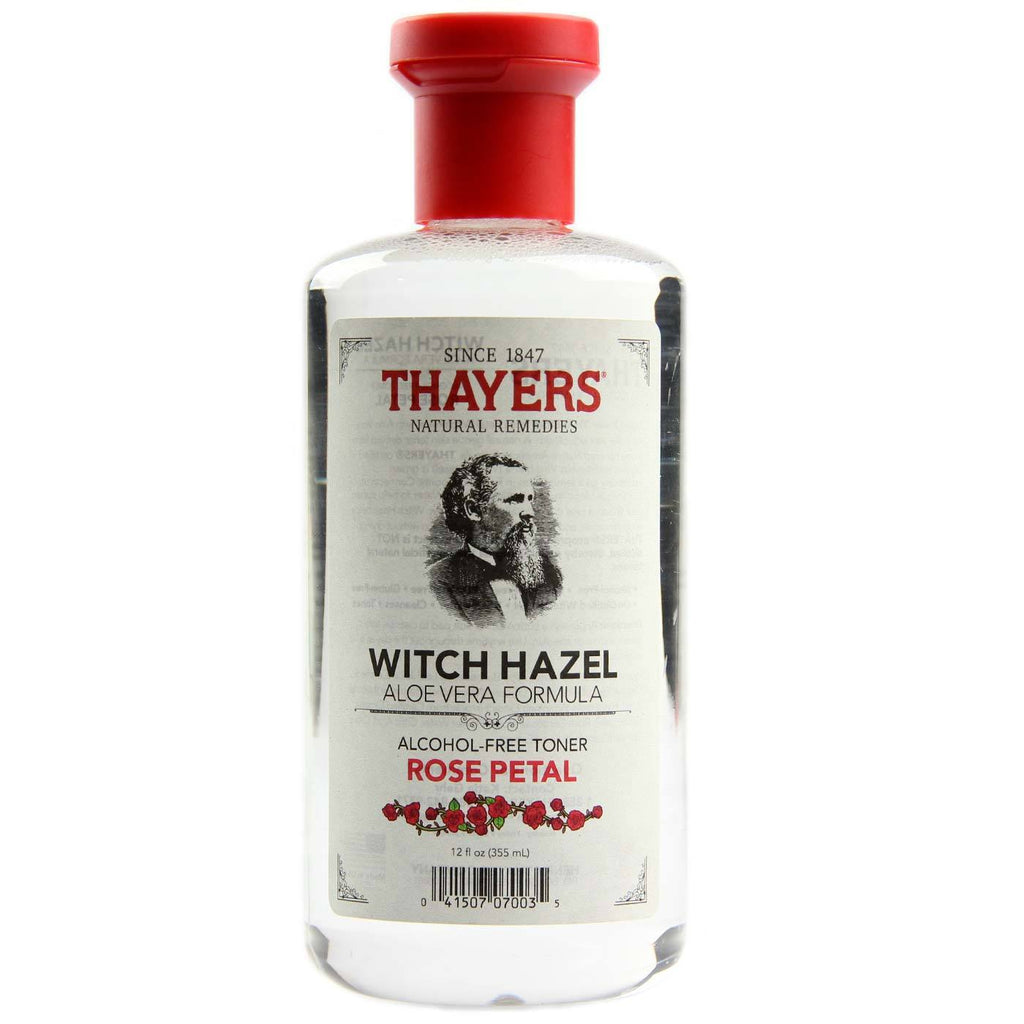 Thayer's Alcohol Free Witch Hazel Toner - Rose Petal - Perfect toner and cleanser for dry and troubled skin