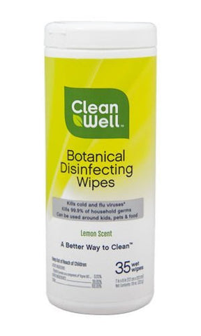 Clean Well Disinfecting Wipes