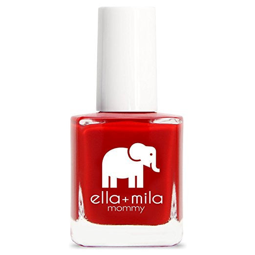ella+mila Nail Polish, Mommy Collection - Paint the Town Red