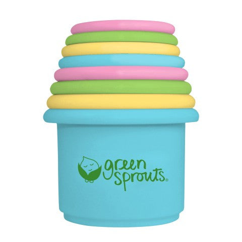 Green Sprouts - Sprout Ware Stacking Cups Made From Plants (6 Cups)