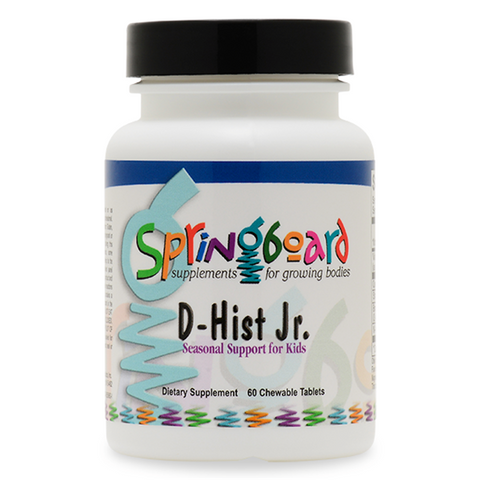 Natural D-Hist Jr. - All natural Allergy support for children - Chewable tablet - 60 day supply