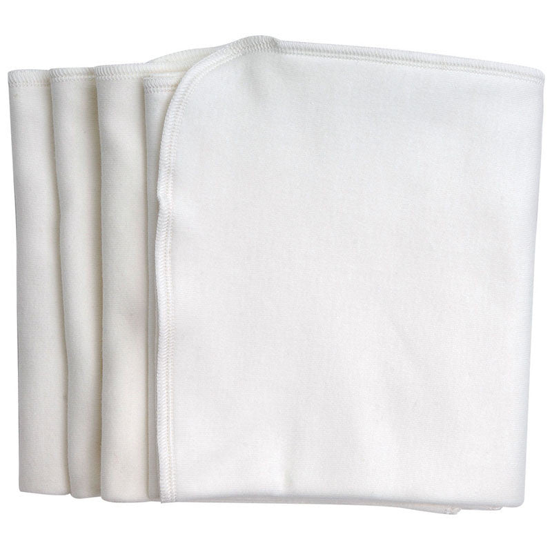 Under the Nile - Organic Cotton Burp Cloths - 4 Pack