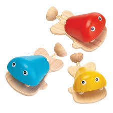 Plan Toys - Fish Castanet