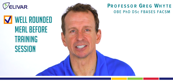How Over 35's Should Fuel Pre-Training - Professor Greg Whyte