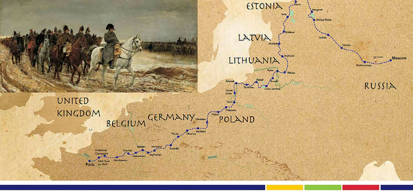 The Napoleon - An Epic Cycling Adventure From Paris To Moscow