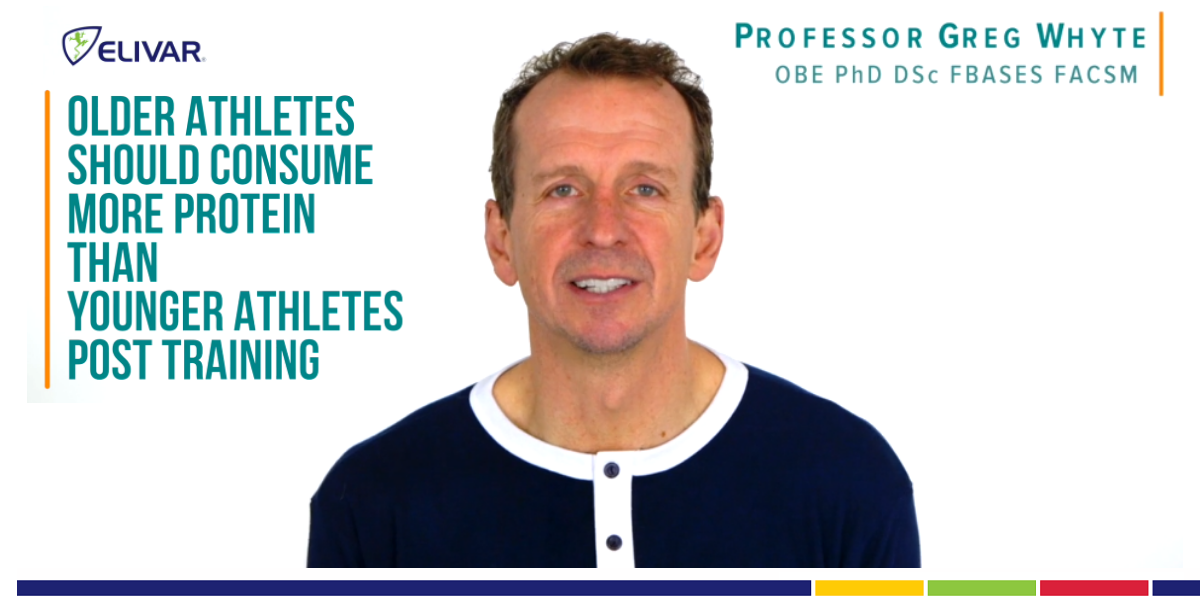 How The Over 35s Should Use Protein For Recovery - Professor Greg Whyte